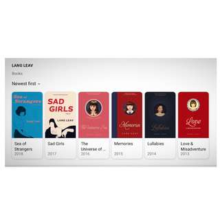 Complete set of Lang Leav eBOOKS