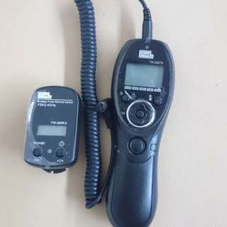 Pixel TW 282 wireless timer remote control (Canon)