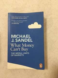 What money can't buy - Michael j sandel