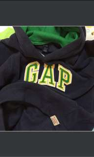 GAP Fleece Pullover in Navy 5-7