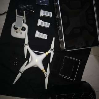 Price Reduced - DJI Phantom 3 Professional with 3 batteries, case, backpack and filters