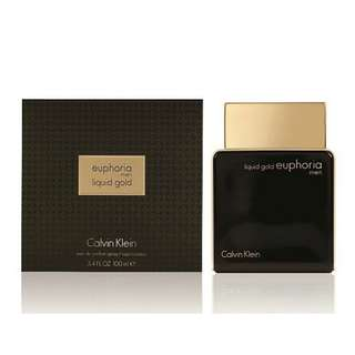 SALE!! CALVIN KLEIN EUPHORIA LIQUID GOLD MEN 100ML