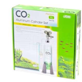 二手 Ista CO2鋁瓶全套組(1L)