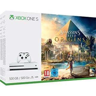 BNIB Xbox One 500GB w/ Assasin's Creed Origins