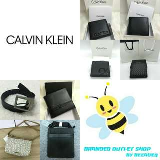 COMBO SET CALVIN KLEIN BELT , WALLET SET & CROSSBODY BAG