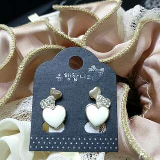 正韓Korea# Buy five get one AB抗敏 耳環 Anti-allergic earrings#免運#free shopping