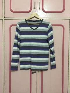 Blued Longsleeve Shirt for Men