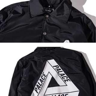 保留)Palace 外套 教練外套 夾克 風衣 衝鋒衣