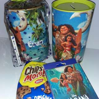 Customised Moana 150mm coin box pack