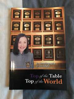 TOP of the Table Top of the World - An Autobiography by Chen Ming-Li