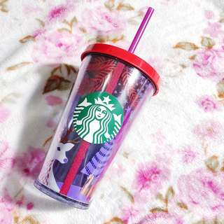 Tumbler Starbucks Christmas edition