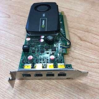 99% new NVIDIA NVS 510 4 ports mini DP output 多張 (每張hkd3200)