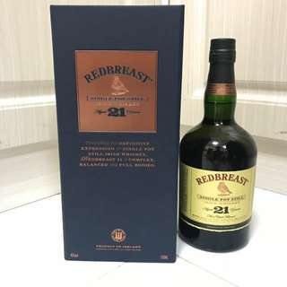 Redbreast 21years