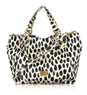 marc jacobs animal-print tote