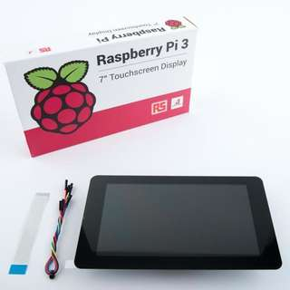 "Official Raspberry Pi 3 7"" Touchscreen Display"