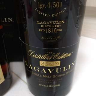 Lagavulin 1995 -2013 18years