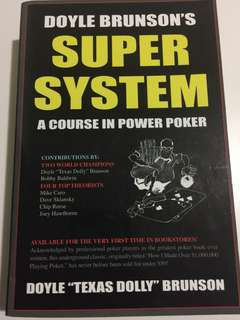 Poker book: Super System