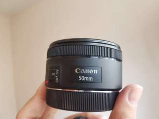 Canon ef 50mm f1.8 Lenses