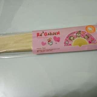 Sanrio RuRu 紙扇