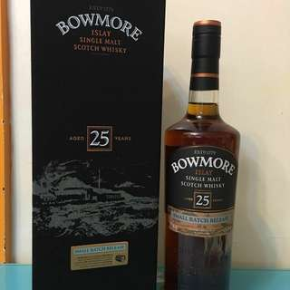 Bowmore 25 years small batch release 700ml