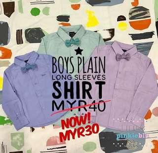 Boy's Long Sleeves Shirt