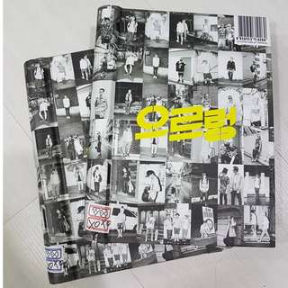 EXO XOXO 1ST ALBUM REPACKAGE [KISS & HUG VERSION]  w/ photocards