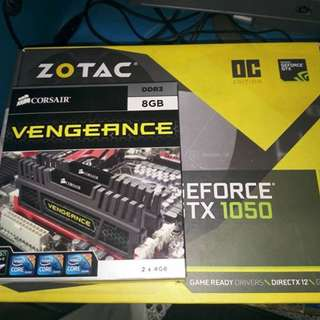 Zotac GTX 1050 OC version Dual FAN