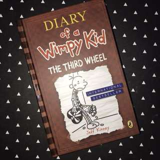 [Reprice] Diary of a Wimpy Kid: The Third Wheel (seventh book)