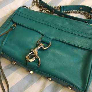 "EUC Rebecca Minkoff Leather Crossbody ""Mini Mac"""