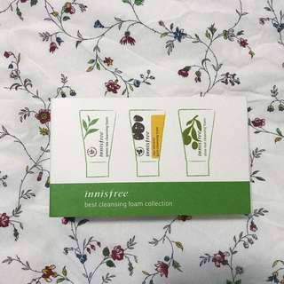 Innisfree Best Cleansing Foam Collection (Travel Size)