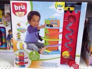 Bru Wacky Walls Activity Tower Kids Toys