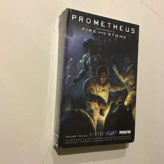 Prometheus The Complete Fire And Stone omnibus
