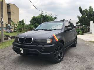 BMW X5 WRAPPING