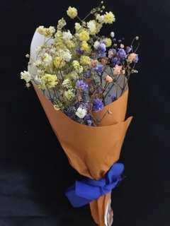 Mini baby breath flower bouquet