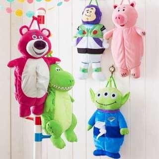 日本迪士尼Toy Story 紙巾套