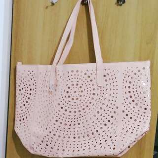Perfect Pink BBW Summer Large Tote