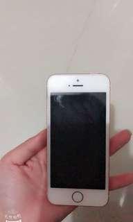 Iphone SE 粉紅色 128G 入手3個月 apple store行貨有盒有保