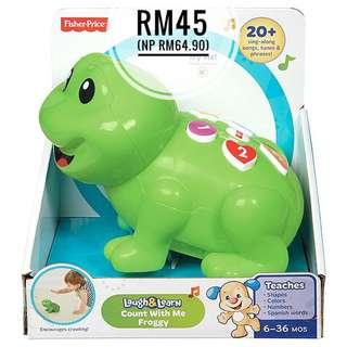 Fisher-Price Laugh & Learn Count With Me Froggy