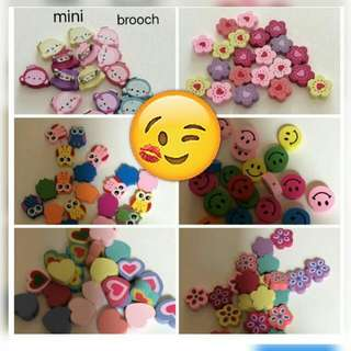 Brooch mini ( 3 for $1)