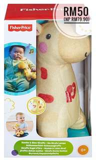 NEW Fisher-Price Soothe & Glow Giraffe