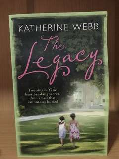 The Legacy by Katherine Webb #bajet20