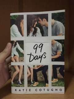 99 Days by Katie Cotugno #bajet20