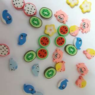 KAWAII mini-Erasers