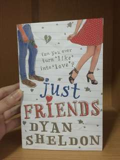 Just Friends by Dyan Sheldon #bajet20