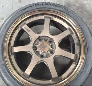 Mugen gp mags with tires