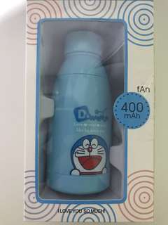Portable Doraemon fan!