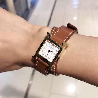 🐰HERMÈS Hermes Heure H hour watch 雙帶手錶