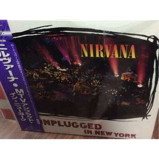 NM nirvana unplugged in new york limited jap press record vinyl
