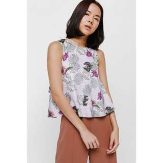 Love Bonito Tayen Printed Layer Top