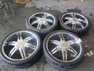 Estrella Cursa mags with tires